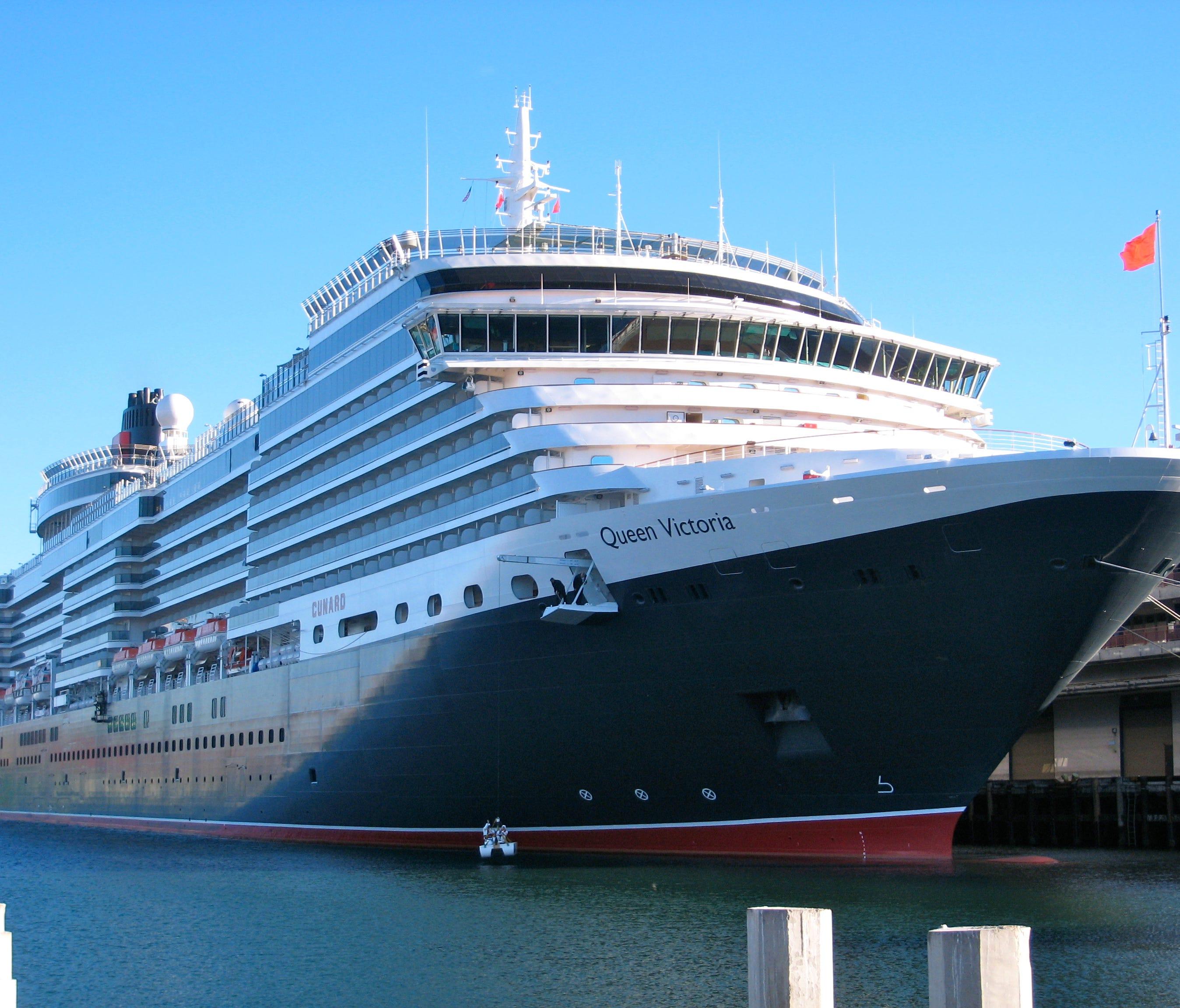 Cunard Line's Queen Victoria.