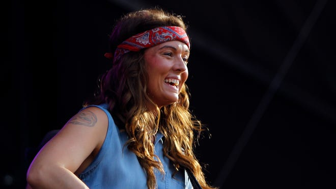 Brandi Carlile, seen here at the Bonnaroo Music and Arts Festival, was one of Jeffrey Pederson's favorite artists in the past year.