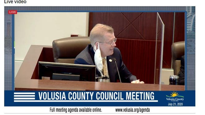 Volusia County Attorney Mike Dyer responds to questions regarding a transition plan to create a tax collectors office should Amendment 10 take effect.