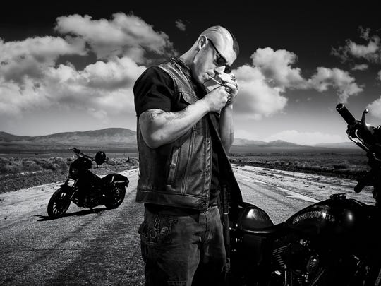 """Theo Rossi of """"Sons of Anarchy"""""""