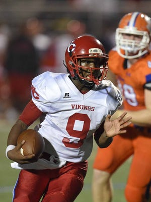 Warren Central quarterback Jesse Wilson and the Vikings have an important road test at Clinton in Week 10.