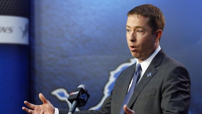 Detroit Lions general manager Bob Quinn