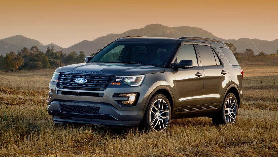 2016 ford explorer suv is ready for any adventure. Black Bedroom Furniture Sets. Home Design Ideas
