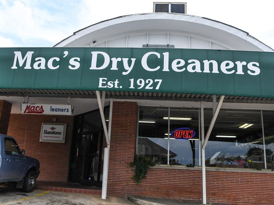 Best of Your Hometown, best dry cleaner service. Mac's Dry Cleaners on Calhoun Street in Anderson.