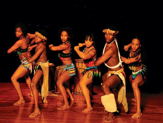 "Lesole's Dance Project will present ""Dancing Through South Africa"" during Renfrew Institute's free Youth Festival on Sunday, May 24 at Renfrew Park in Waynesboro. (Courtesy)"