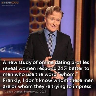 Internet dating studies