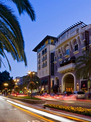 Santana Row in San Jose, California, provided the inspiration for the Ilitches' new arena district.
