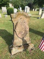 Capt. Hall Before - East Cemetery