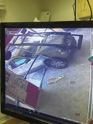 After an SUV plowed into the front entrance of Boba