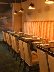 A view of seating inside  Sindoore - Indian By Nature