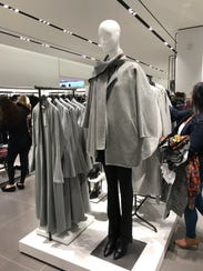 Wrap jacket is $169.90 at Zara.