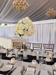 Lucille Conforti arranges blooms for every kind of