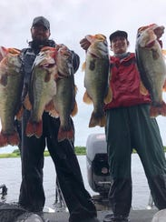 Chris Schirling and Kail Stevens won the Nik Kayler Memorial Benefit Tournament out of Okeetantie Saturday topping a field of 100 teams with a 38-pound bag limit.