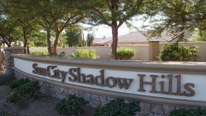 The Sun City Shadow Hills development in Indio, October 24, 2017.