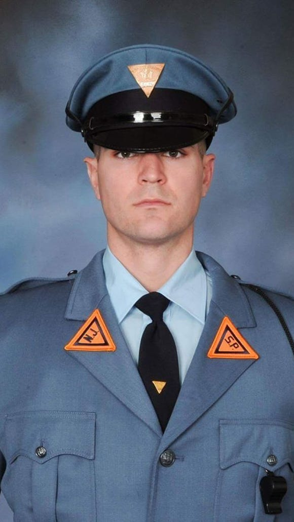 New Jersey State Police Trooper Eli McCarson, a 30-year-old newlywed and rookie trooper, died after his patrol car hit a utility pole off Quinton-Alloway Road on Dec. 18. (photo provided)