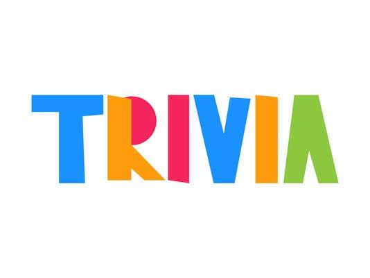 Trivia. Vector illustration poster, banner on white background.