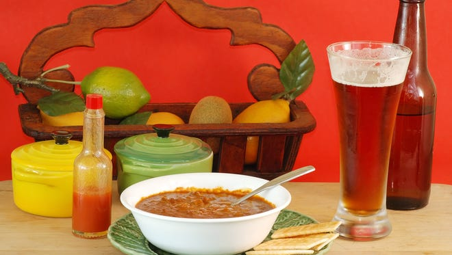 Chili and beer might be the perfect recipe to stave off the winter doldrums.