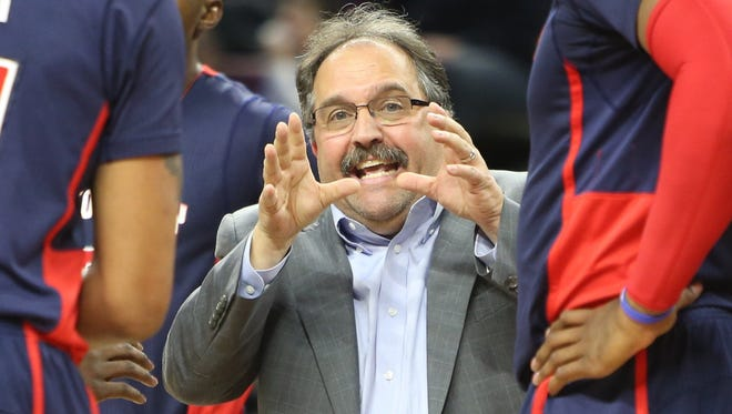 Stan Van Gundy led the Pistons to a 32-50 record in his first season at the helm.