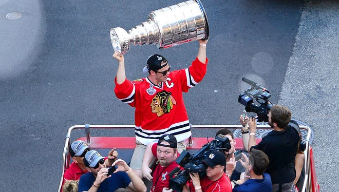 Jonathan Toews and the Chicago Blackhawks seem set for another run at the Stanley Cup.