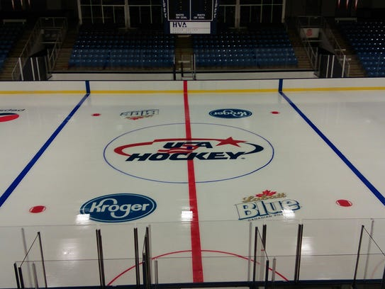 USA Hockey Arena's pro-sized rink already has a newly