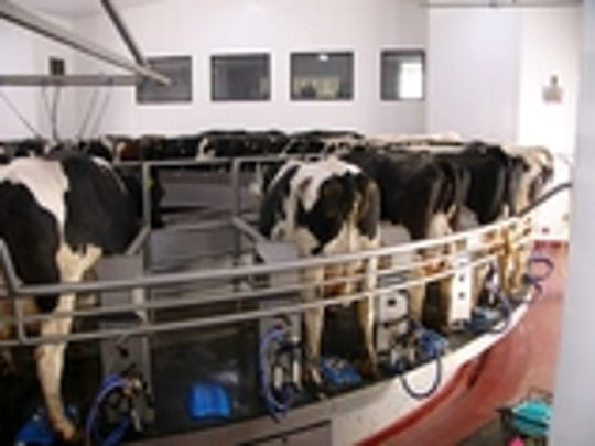 Heimans Holsteins constructed a two-story parlor-office complex when cows were moved in 2015 from the Weber's Farm Store site on the outskirts of Marshfield, Wisconsin, to a new farm with more room to grow.
