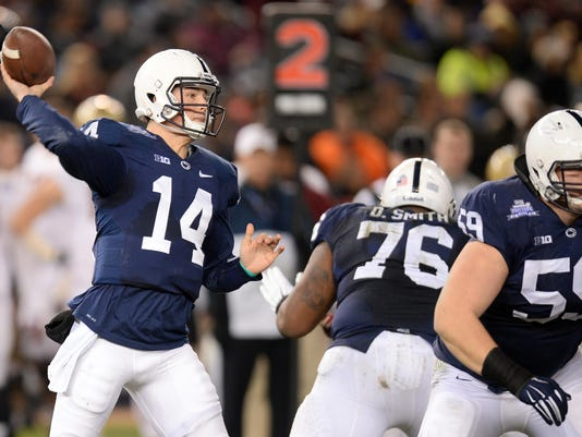 NCAA Football: Pinstripe Bowl-Boston College vs Penn State