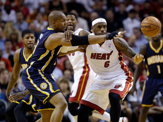 Pacers Heat Basketball