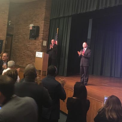 County Executive Rob Astorino touched on several county
