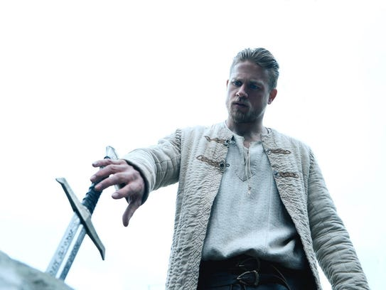 """Charlie Hunnam in a scene from """"King Arthur: Legend"""