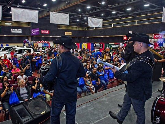 Groupo Solido performs at the 2016 Caller-Times' Best of the Best Showcase at the American Bank Center on Sunday.