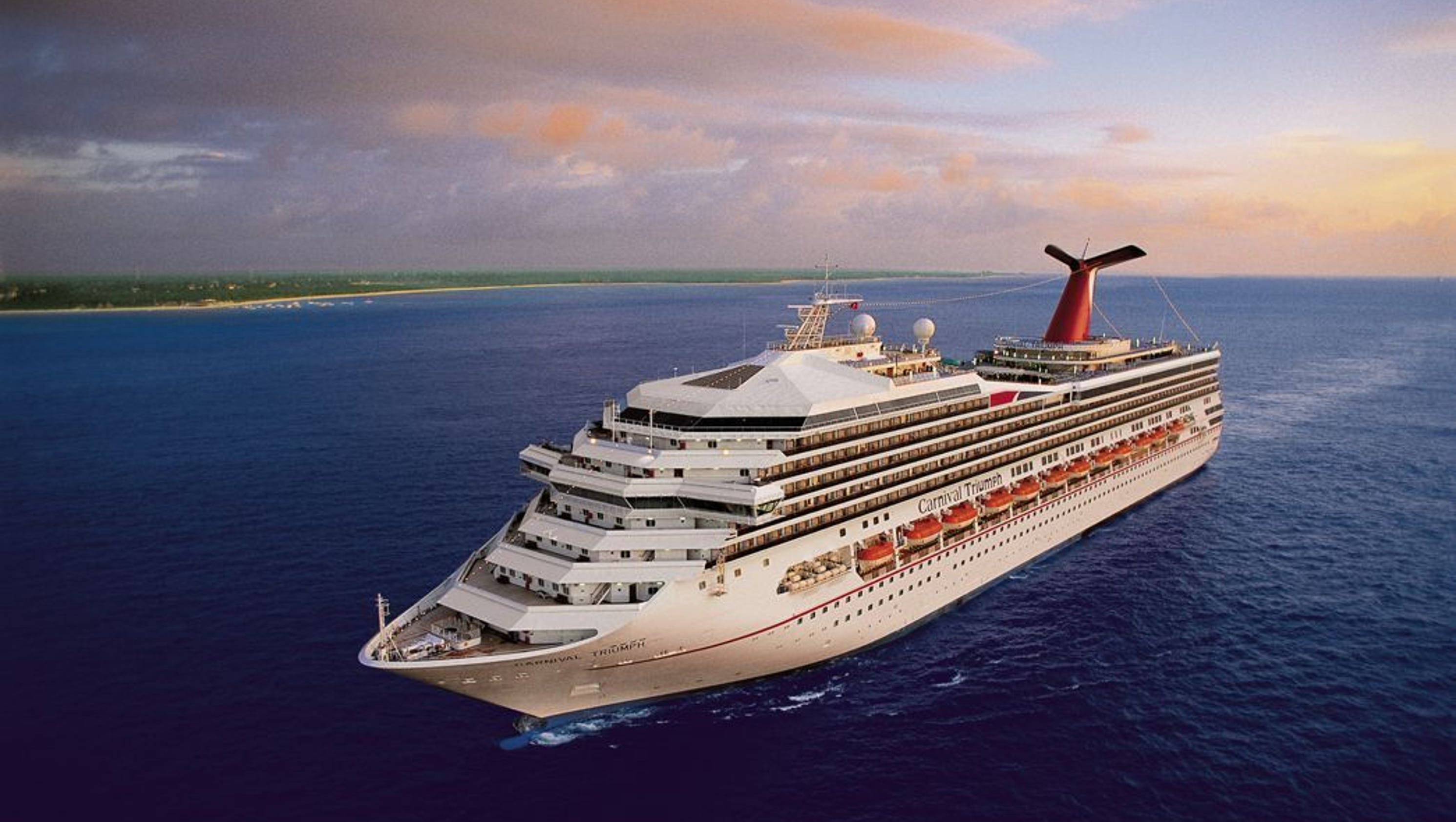 Carnival Triumph: Carnival Cruise Line Ship To Sail Out Of