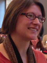Ball State University natural resources graduate Elaine Vidal is Muncie's food hub coordinator.