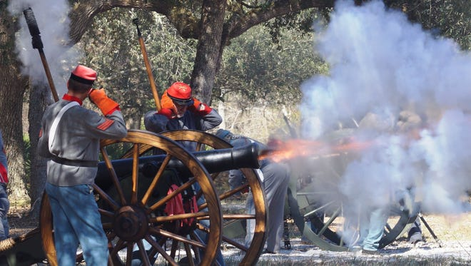 The cannons will roar once more during the re-staging of the Battle of Natural Bridge this weekend.
