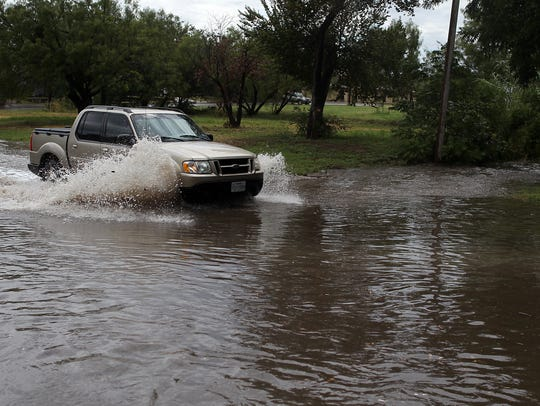 Major flooding on San Angelo's Avenue P has long frustrated