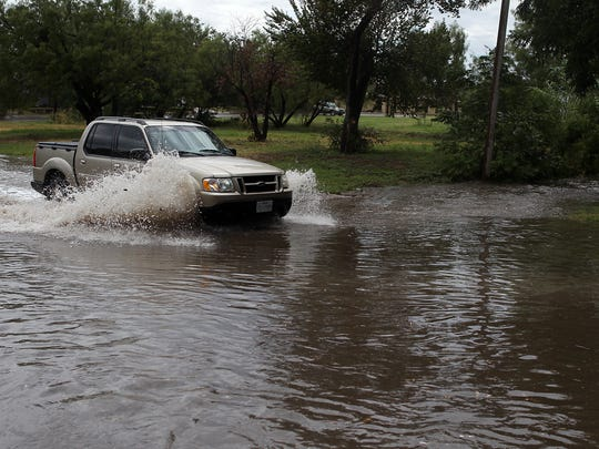 Major flooding on San Angelo's Avenue P has long frustrated residents.