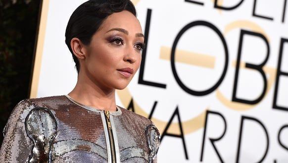 Ruth Negga shined at the 74th annual Golden Globe Awards