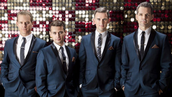 """The Midtown Men, all original members of the """"Jersey Boys"""" Broadway cast, will perform March 25 with the Wichita Falls Symphony Orchestra."""