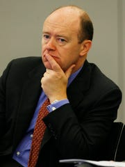 John Cryan will succeed Jain in July 2015 and will