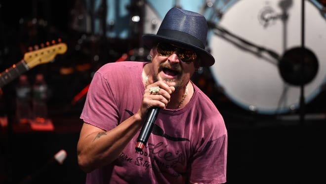 Kid Rock performs at Irving Plaza on May 5, 2015 in New York City.