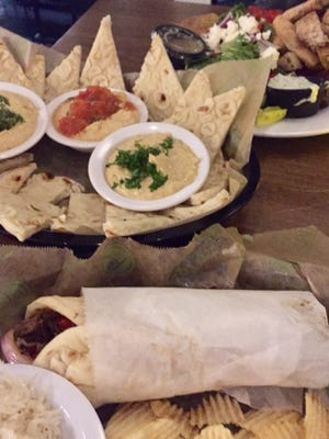 Taziki's Mediterranean Cafe offers dishes with a Greek influence.