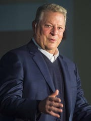 Former Vice-President Al Gore delivers a lecture titled