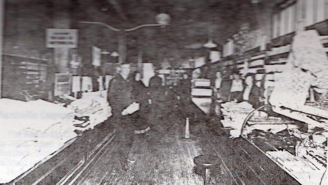 Undated photo of Rataichek Hardware Store in Reedsville.