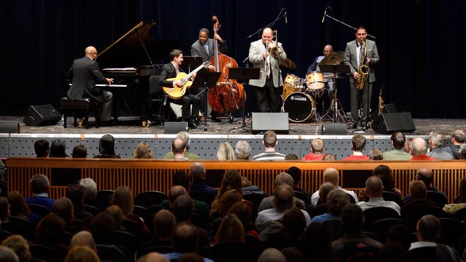 """The 10th annual """"A Jazzy Little Christmas"""" takes over the Fairchild theater this Saturday, Dec. 16 at 8 p.m."""