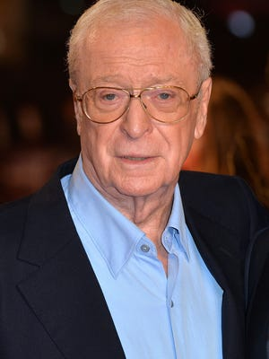 """Sir Michael Caine attends the UK premiere of """"The Last Witch Hunter"""" on Oct. 19, 2015, in London."""