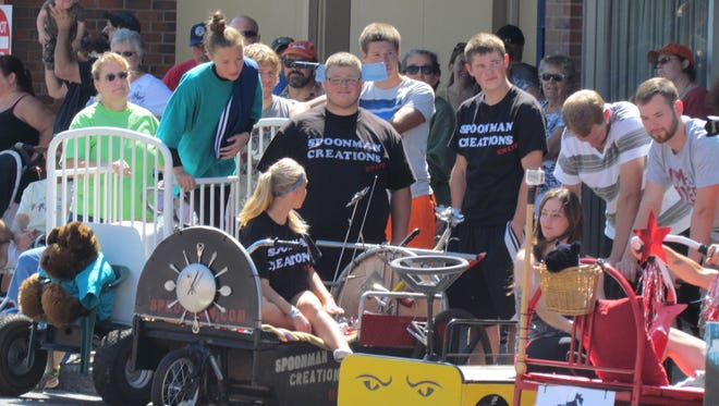 The Santiam Summerfest Bed Races take place at 11 a.m. Saturday, July 30, in Stayton.