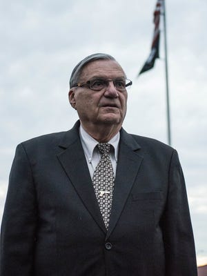 Former Maricopa County (Ariz.) Sheriff Joe Arpaio was found guilty in his criminal contempt of court case Monday, July 31, 2017.