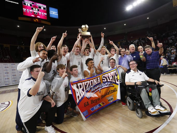 Winslow wins over chinle in 3a boys basketball state semifinal photos 2017 18 arizona high school boys basketball season fandeluxe Choice Image