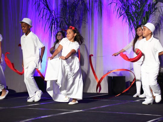 Rancho Mirage Elementary School dancers.