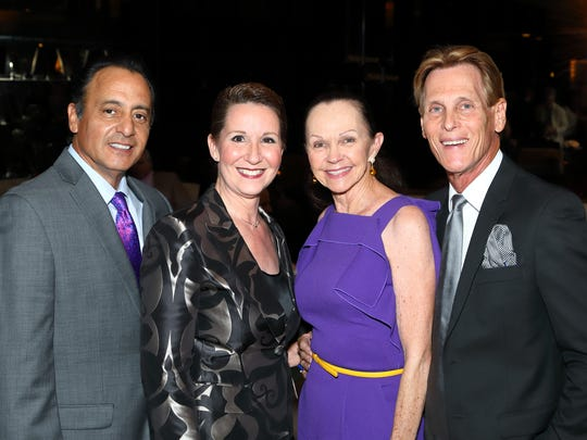(left to right): Leon and Nicole Kochakis with Kay Hanson and Michael Davis.
