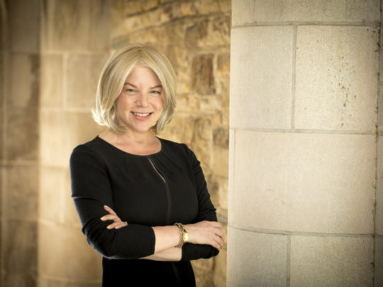 Dr. Marjorie Hass, president of Rhodes College in Memphis